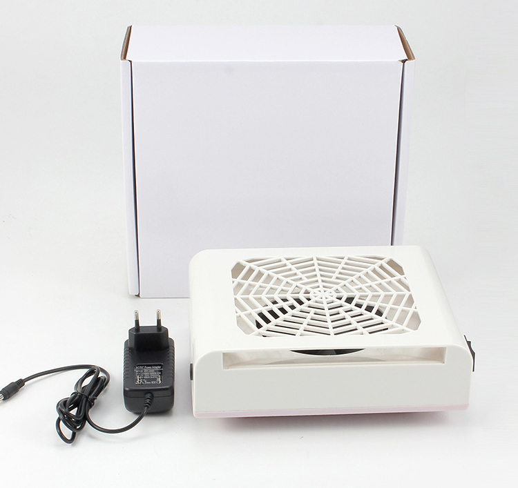 40W Nail Fan Art Salon Suction Dust Collector Machine, Vacuum Cleaner UV Gel Machine Nail Dust Collector 24w nail fan art salon suction dust collector machine vacuum cleaner salon tool acrylic uv gel machine nail dust collector
