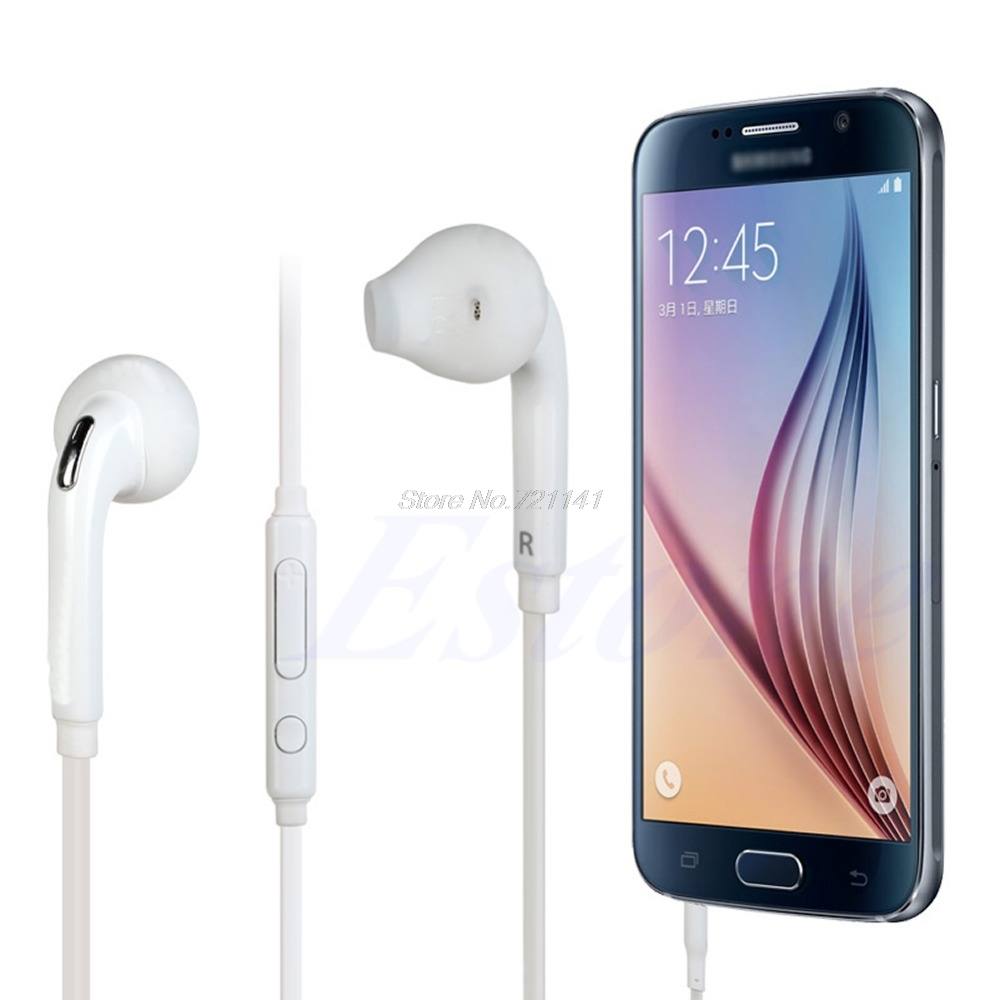 In-Ear Earphone With Mic Earphone For Samsung Galaxy S6/S5/S4/S6 Edge/Note 3 2/Sony For HTC Xiaomi Huawei Electronics Stocks
