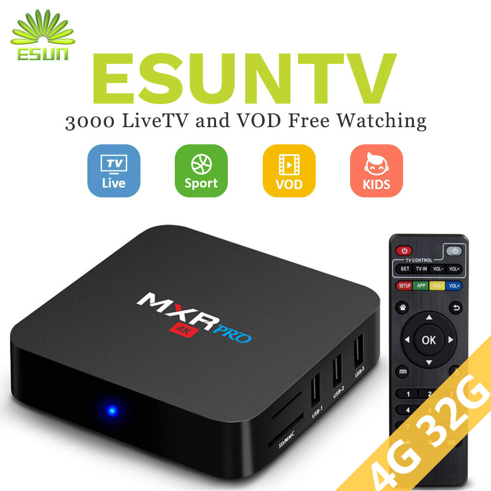 1 anno IPTV incluso MXR PRO RK3328 Android 7.1 Smart TV Box 4G 32G Set top Box Europa IPTV Spagna iptv portogallo CANADA1 anno IPTV incluso MXR PRO RK3328 Android 7.1 Smart TV Box 4G 32G Set top Box Europa IPTV Spagna iptv portogallo CANADA