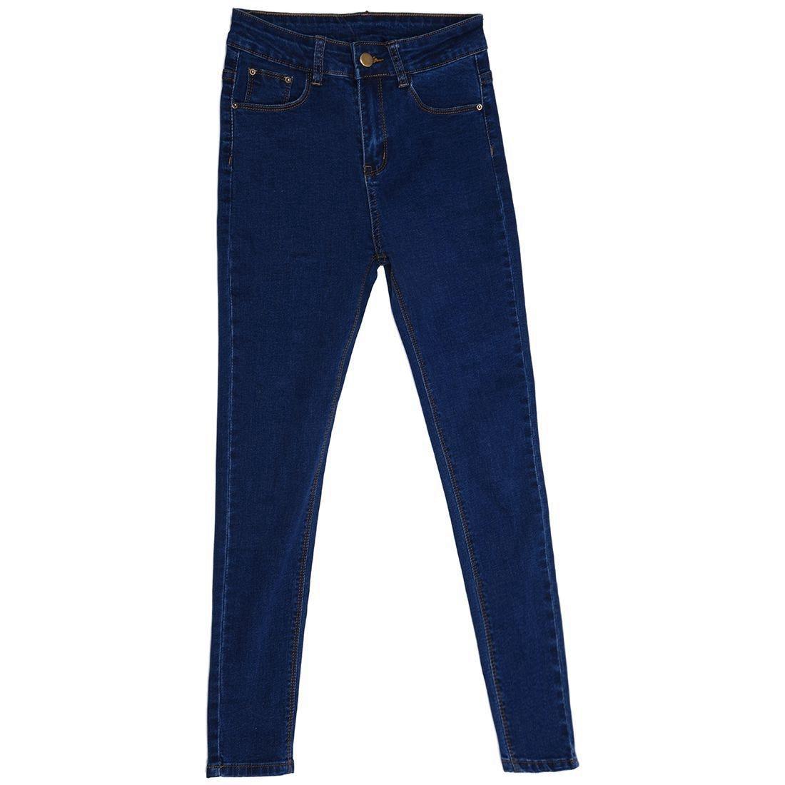 Woman's new fashion brand women skinny pencil jeans denim elastic pants washing color good quality woman casual jean pants(dar