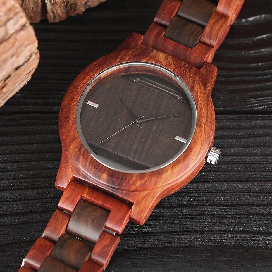 Top Luxury Full Bamboo Wood Quartz Watch Mens Hollow Analog Handmade Bracelet Sports Wristwatch Male Simple reloj de hombre 2017 2018 Gifts (11)