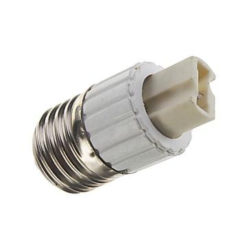 10 piezas E27 a G9 lámpara convertidor E27-G9 lámpara Led Base de la bombilla conversión hembra adaptador de luz titular de la Base
