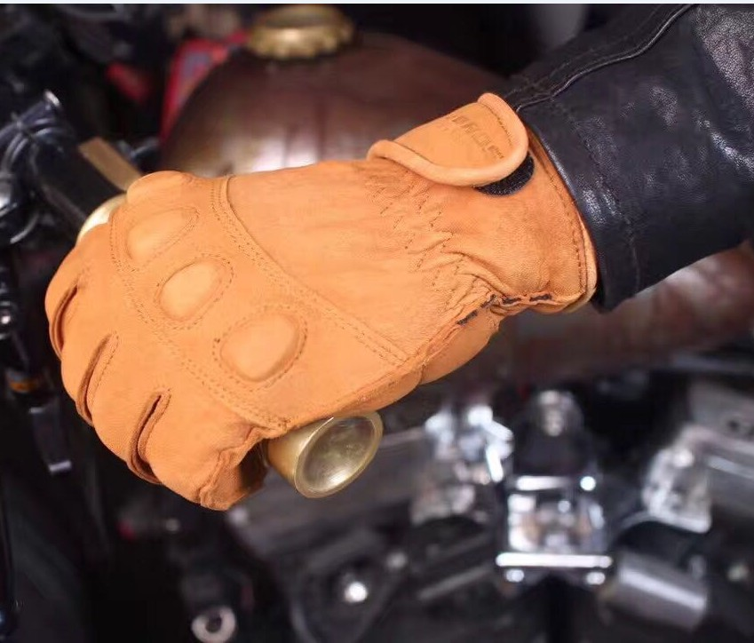free delivery UGLYBROS Ha lle retro wind motorcycle gloves motorcycle riding gloves breathable warm leather gloves