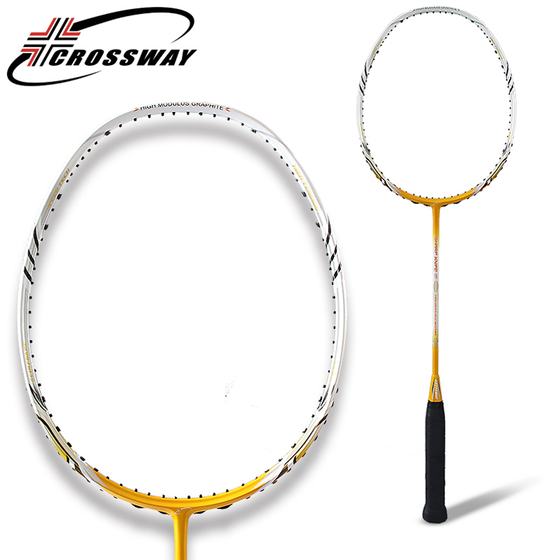 CROSSWAY Badminton Racket carbon badminton racquet badminton racket fitness outdoor training equipment gym aids exercise 60-61