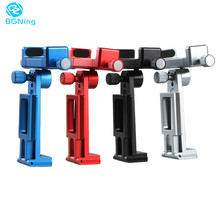 360 Rotatable Smartphone Tripod Mount Aluminum Universal Smart Phone Tripod Adapter Holder Clip for X 8 7 Plus Samsung цена