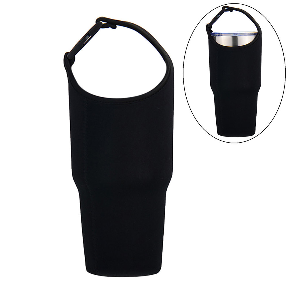 Water Bottle Cup Carrier Insulated Cover Bag Diving Cloth Cup Pouch Drink Holder