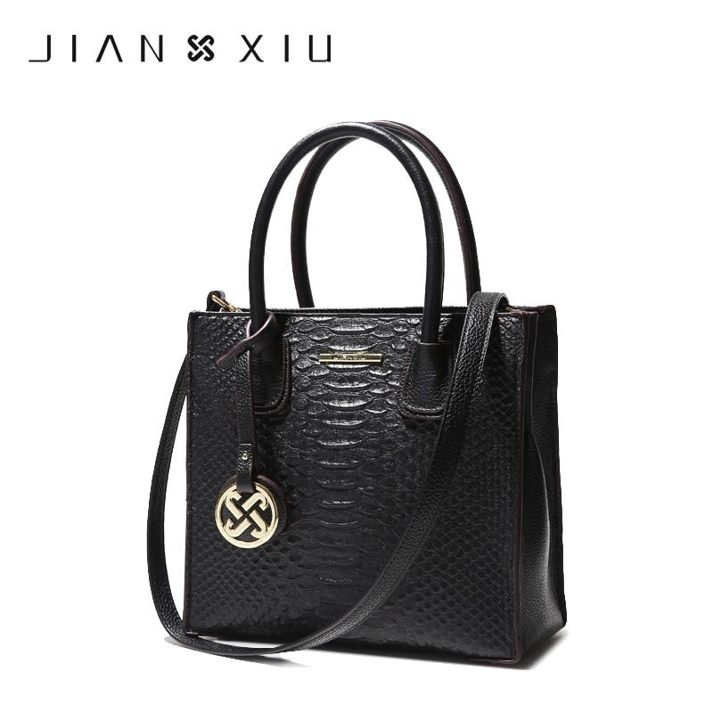 JIANXIU Crossbody Bags for Women Genuine Leather Luxury Handbags Women Bags Designer Shoulder Messenger Tote Bag Handbag W620