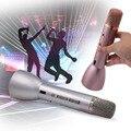 Mini Portable Handheld Wireless Bluetooth Karaoke Player Microphone Speaker KTV Effect Home USB Rechargeable TH508