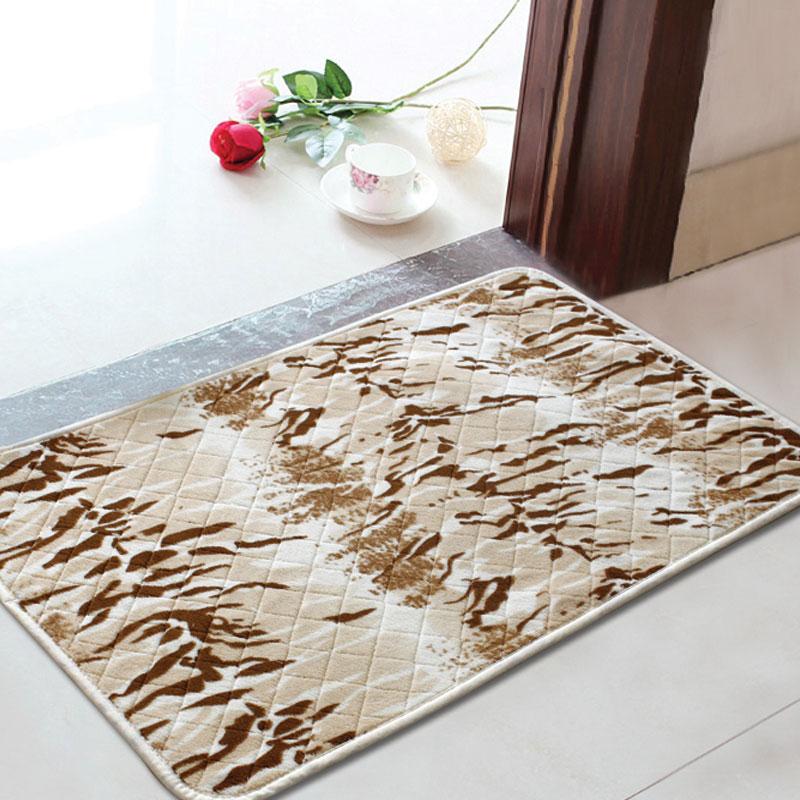 1pcs Soft Home Bath Mat In The Bathroom 50x80cm Doorway Bathroom Mats And Rugs Carpets Bathroom Floor Mats Rugs Alfombras