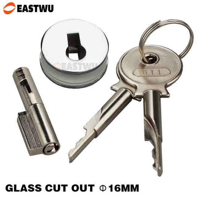 Sliding Glass Showcase Lock All Keyed Alike Suits Display Cabinet Door