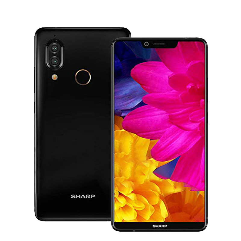 Sharp Aquos S3 FS8032 5.99 Inch Mobile phone Snapdragon 630 Android 8.0 RAM 4GB ROM 64GB 3200mAh NFC 4G LTE Smartphone