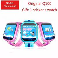 Original GPS Smart Watch Q750 Q100 Baby Watch with Wifi 1.54inch Touch Screen SOSCall Location Device Tracker for Kid PK Q80