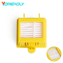1PC Hepa Filter Clean Replacement Tool Kit Fit for iRobot Roomba 700 Series 760 770 780 790 Vacuum Cleaning Robots Parts replacement filter and brush kit for irobot roomba 700 series 760 770 780 790 accessory kit include 12 filter 12 side brush 2