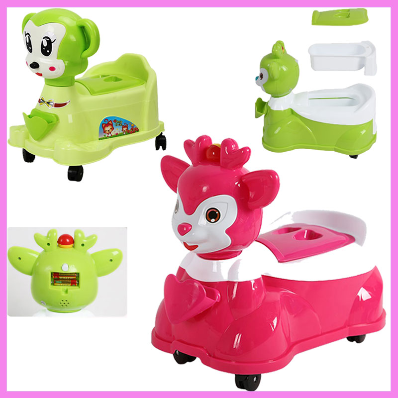 Drawer Type Child Toilet Baby Boys Girls Small Toilet Urinal Potties Safety Seat Portable Cartoon Ride Baby Toilet Trainer Seat hot selling baby penguintoilet girls boys baby potty toilet urinal portable bedpan children drawer type potties stool seat