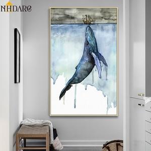 Beautiful Watercolor Whale Mod