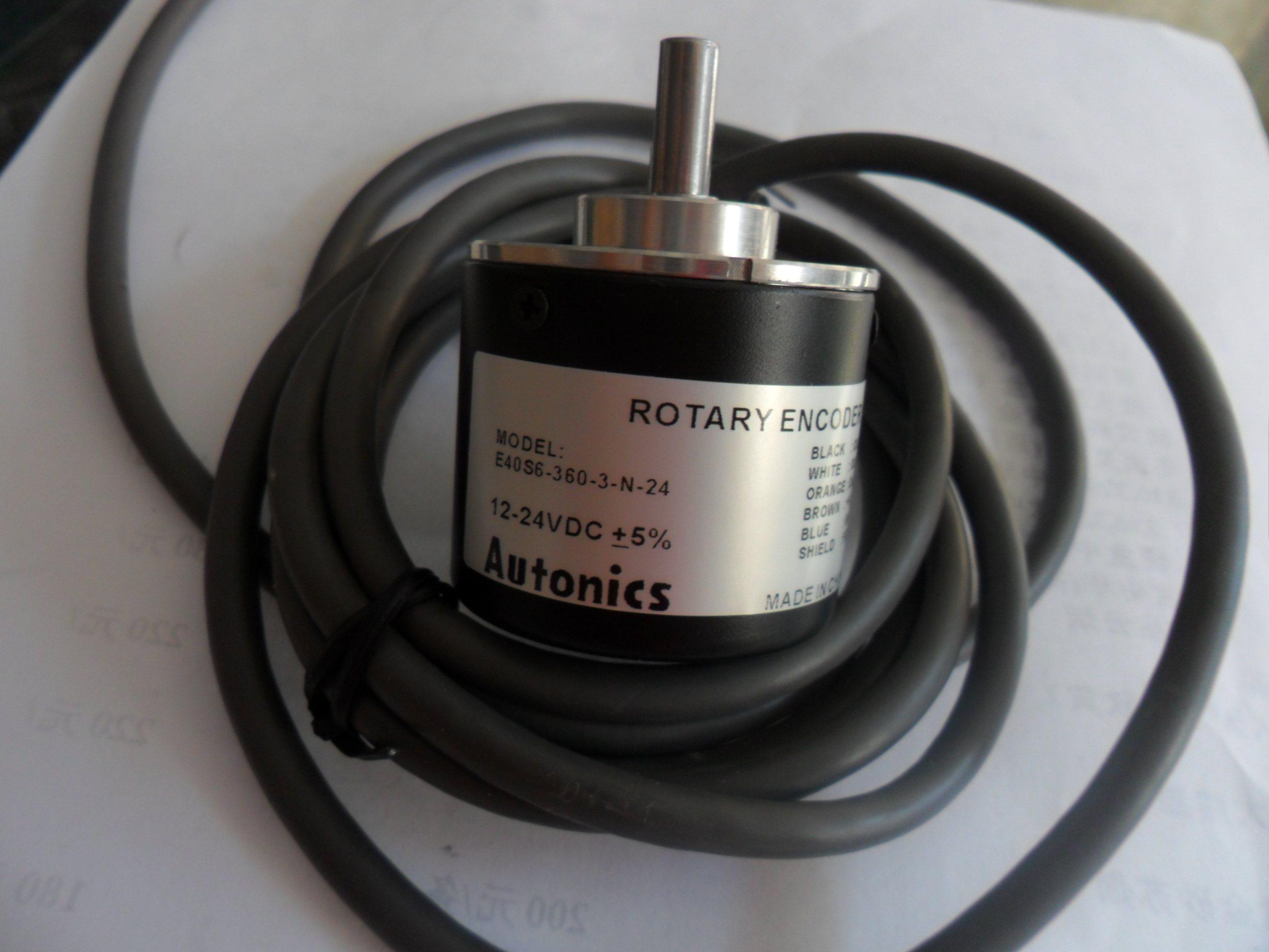 FREE SHIPPING E40s6-1024-6-l-5 Solid Shaft Optical Encoder Long Line