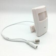 Ahd 1080p 2.0mp 3.7mm mini lente mini box ahd segurança pir sensor de movimento caixa cctv segurança bnc hd tvi cvi 1080p câmeras