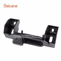 Seicane Hidden Mini Camera Car Reverse Camera for SUZUKI SX4 two boxes Car Rear View Camera CMOS with Blue Ruler Night Vision