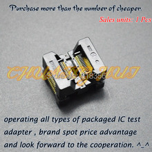 Enplas OTS-28-0.65-01  SSOP28 TSSOP28 IC Test Socket Programming Adapter 0.65mm Pitch 4.4mm Width