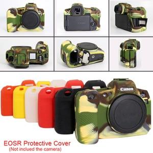 Image 3 - Silikon Fall für Canon EOS R Fall Weichen Silikon Gummi Schutzhülle Körper Haut für Canon EOSR Kamera Körper Schutz Abdeckung