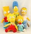 Simpsons família filme plush toys & hobbies vivid bonito brinquedos de pelúcia para as crianças brinquedos do bebê