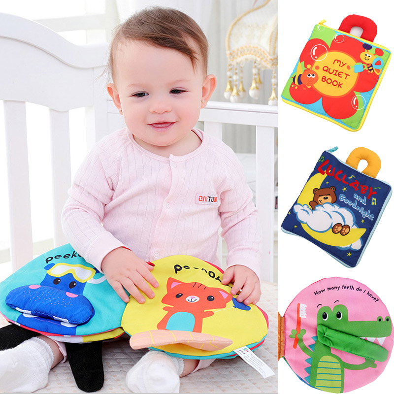 Educational Toys For Children Newborns 0-12 Months Hot Selling Tmall Stuffed Doll Soft Stroller Mobile Quite Book Baby Toys