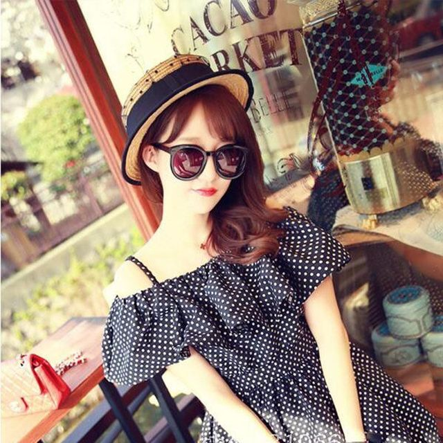 2017new summer 100% good quality Flat Sun Hat Women's bow Straw Hats For Women Beach hat chapeau femme boater Gift free shipping