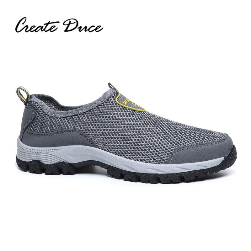 39 Hechos Vadeo Al Tamaño 49 Duce Black Comodidad Luz Aire Gran Crear Pedal De Hombres A blue gray Transpirable Zapatos Libre Ocasionales Un Mano Los 8WfUZw