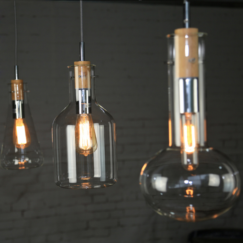 Modern Loft American Retro Buffet Restaurant Lights Sitting Room Individuality Creative Glass Pendant Lamp Free ShippingModern Loft American Retro Buffet Restaurant Lights Sitting Room Individuality Creative Glass Pendant Lamp Free Shipping