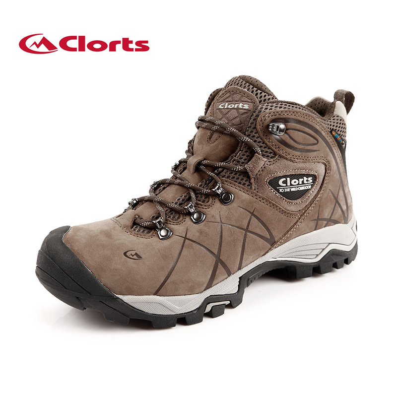 New Clorts Men Hiking Boots Professional Mountaineering Shoes Waterproof Climbing Boots Outdoor Shoes For Man HKM