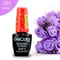 Nova Chegada 205 Cor opie Cor Gelpolish Goma Laca UV Top coat De Base Off LEVOU Polonês Gel UV Design de Moda Para Unhas de Gel Unha 15 ml