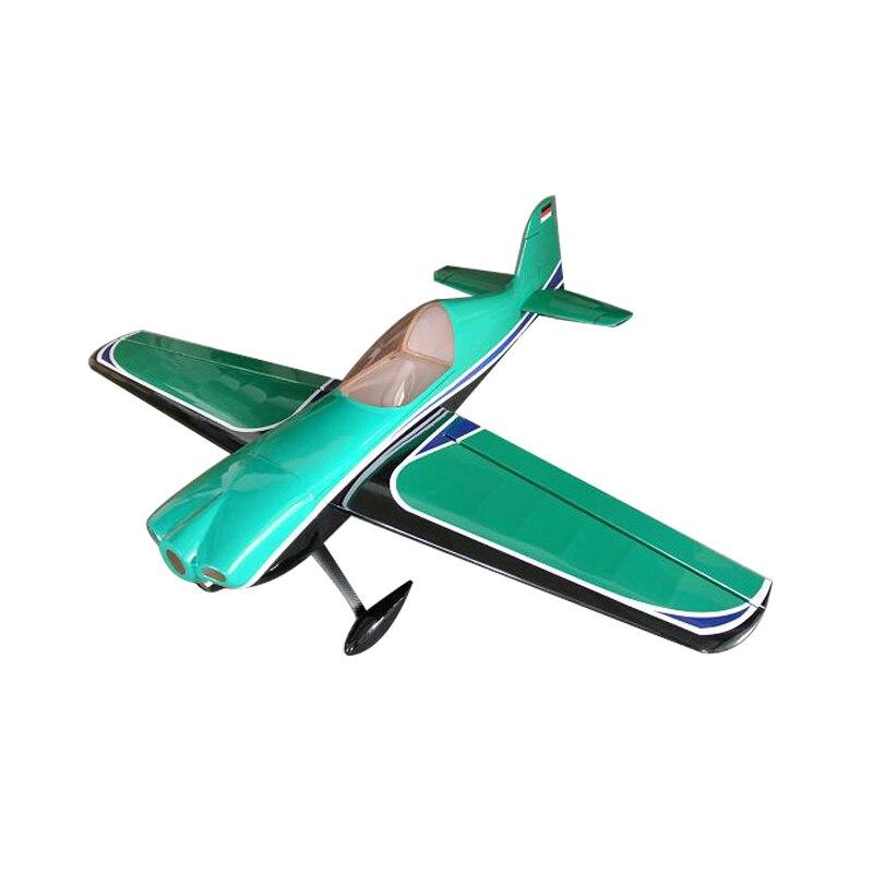 США со Sbach 342 73 дюймов/1850 мм 30CC Радиоуправляемый бензиновый 3D самолет с неподвижным крылом АРФ самолета фиолетовый