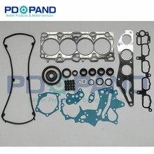 4G69 полный двигатели для автомобиля полный набор прокладок MD979394 Mitsubishi Lancer Outlander/GRANDIS/GRUNDER салон 2.4L 2378cc