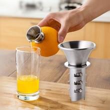 2018 Creative Manual Juicer Home Lemon Clip Squeeze Juice Stainless Steel Color Mini Orange Fruit Juicer цена