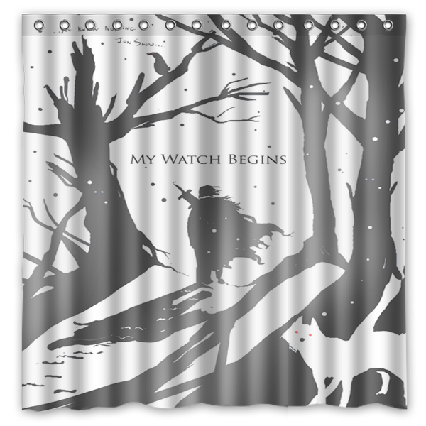The Night Watch Polyester Shower Curtain