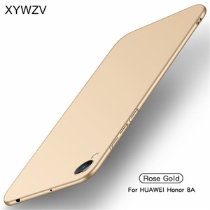 Image 2 - Huawei Honor 8A Case Silm Luxury Ultra Thin Smooth Hard PC Phone Case For Huawei Honor 8A Back Cover For Huawei Honor 8A Fundas
