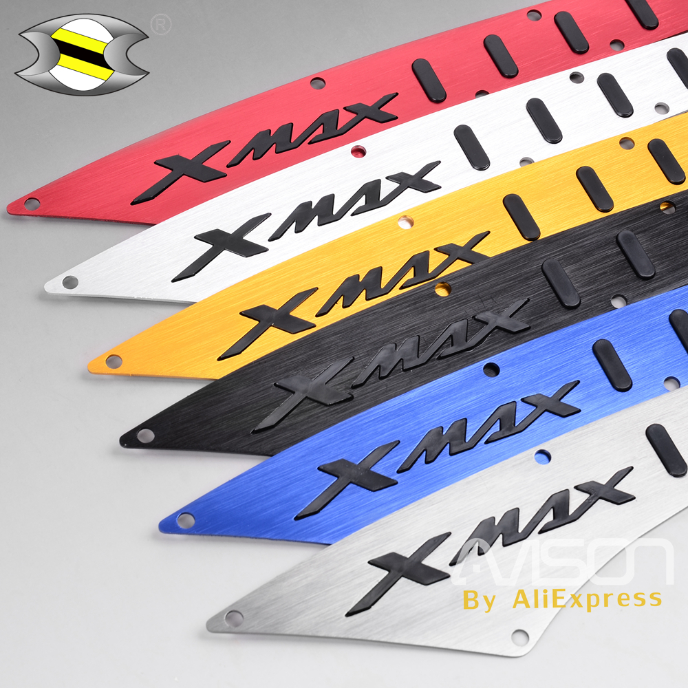 2018 New Motorcycle accessories For Yamaha XMAX 300 2017 2018 X-MAX 250 300 Foot Pegs Footrest Step Pedal Foot plate