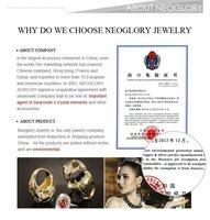 neoglory красивое ювелирные изделия из кристаллов ожерелья для мужчин сердце подвеска для женская г. новые модные