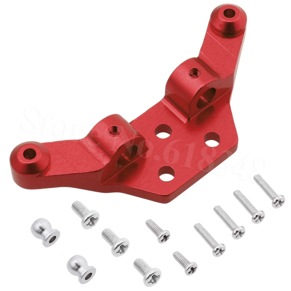 1 Set Alloy Front Shock Tower For WLtoys <font><b>1/28</b></font> <font><b>RC</b></font> <font><b>Car</b></font> Upgrade <font><b>Parts</b></font> K969 K989 K999 P929 4WD Short Course Drift Off Road Rally image