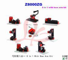 Bow Arm Type! 8 in 1 lathe with bow arm/Z8000ZG 8in1 bow-arm machine kit/24W.20000rpm DIY lathe kit /mini instructional machines