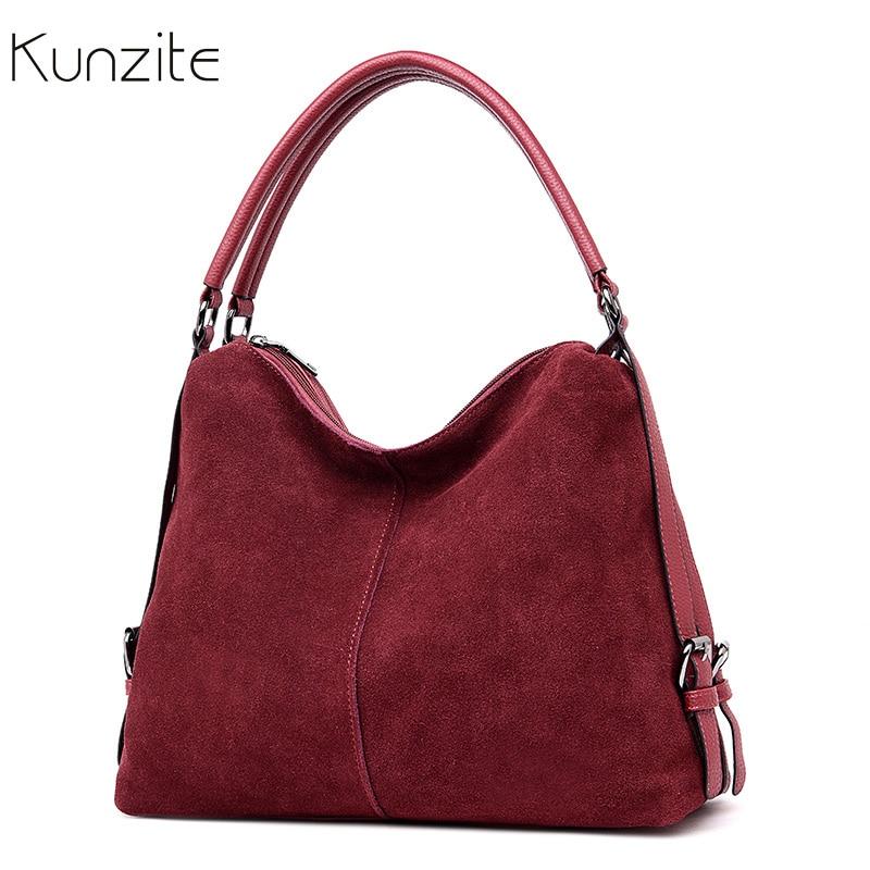 цены на Luxury Suede Leather Handbags Women Bags Designer Casual Tote Shoulder Bag Famous Brand Crossbody Bags for Women Top-handle Bags в интернет-магазинах