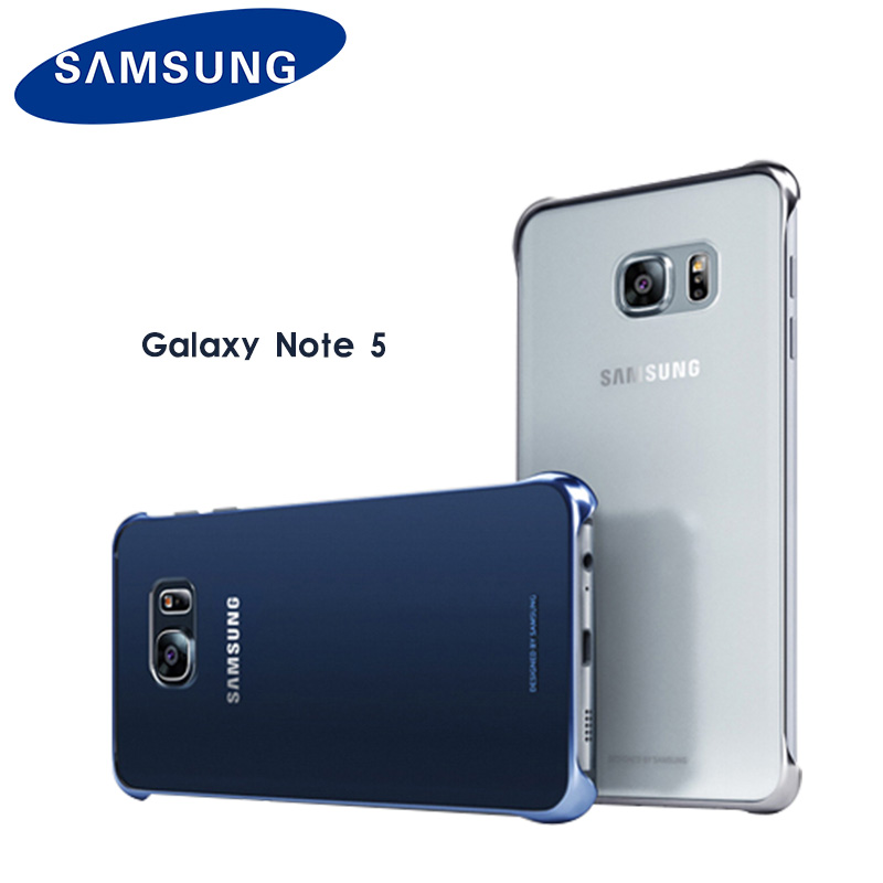 Samsung Hard-Shell Clear-Cover Note Transparent 5-Case N920 Back For Galaxy Note-5/N920/Shockproof/Transparent