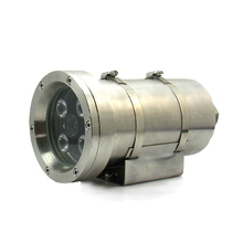 Explosion network IP camera surveillance HD 4.0MP 304 stainless steel housing P2P Onvif security CCTV