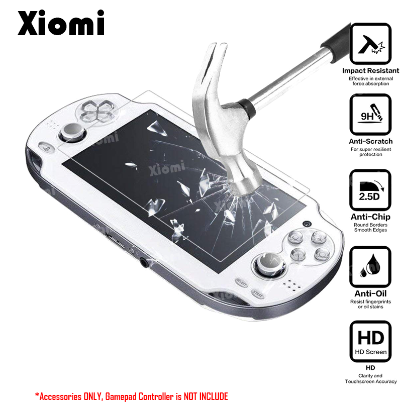 Tempered Glass Screen Protector Cover Protective Film for Sony PlayStation Psvita PS Vita PSV 1000 Console Game Player-!