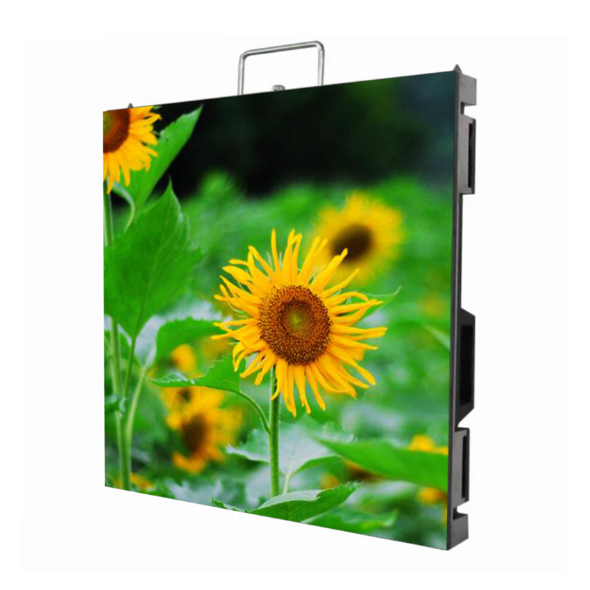 P4 Indoor Full Color SMD 2121 Rental Led Screen Display Tv Die Casting Aluminium Cabinet Led Video Wall For Stage