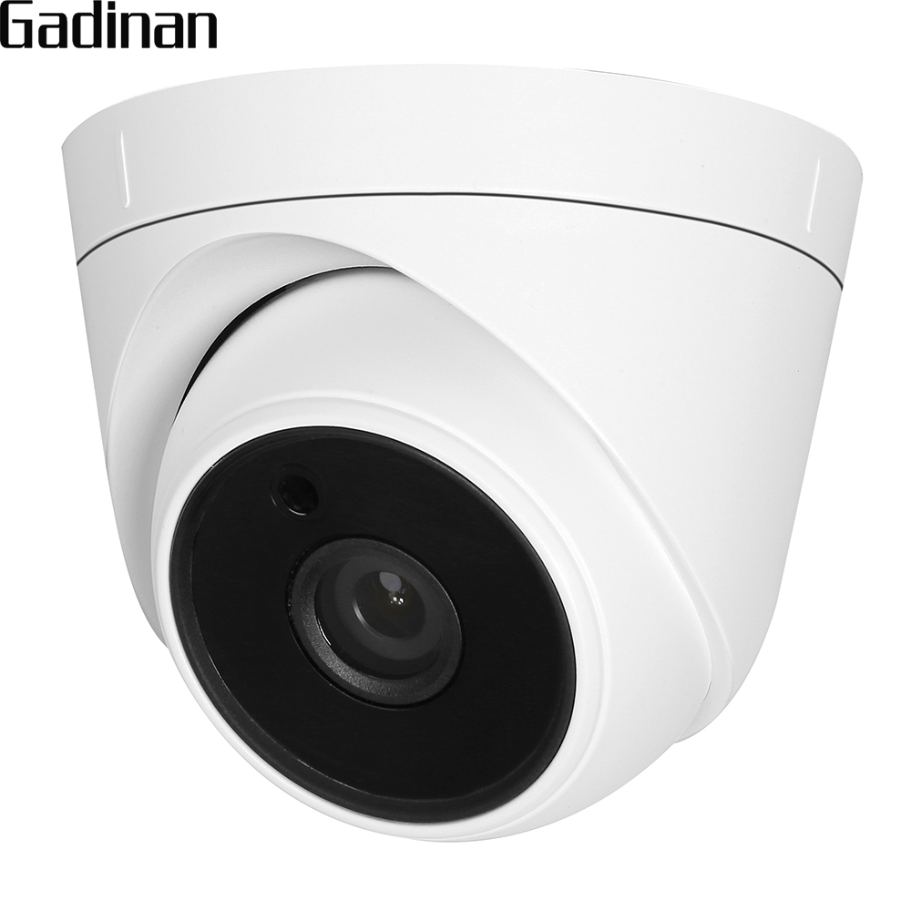 GADINAN AHD 3MP NVP2470H+SC3035 4MP NVP2475H+OV4689 Dome Camera Security Camera Night Vision 6pcs Array IR Leds CCTV Camera 4 in 1 ir high speed dome camera ahd tvi cvi cvbs 1080p output ir night vision 150m ptz dome camera with wiper