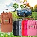 2016 top venda-secagem rápida lavável estilo do carro banco de trás de armazenamento multi-bolso moda bag para beber ipad iphone cigarro lz