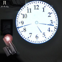 Remote Control 4 Colors Desk Clock With LCD Display Projection Clock Home Office Decoration LED Wall Digital Projection Clock