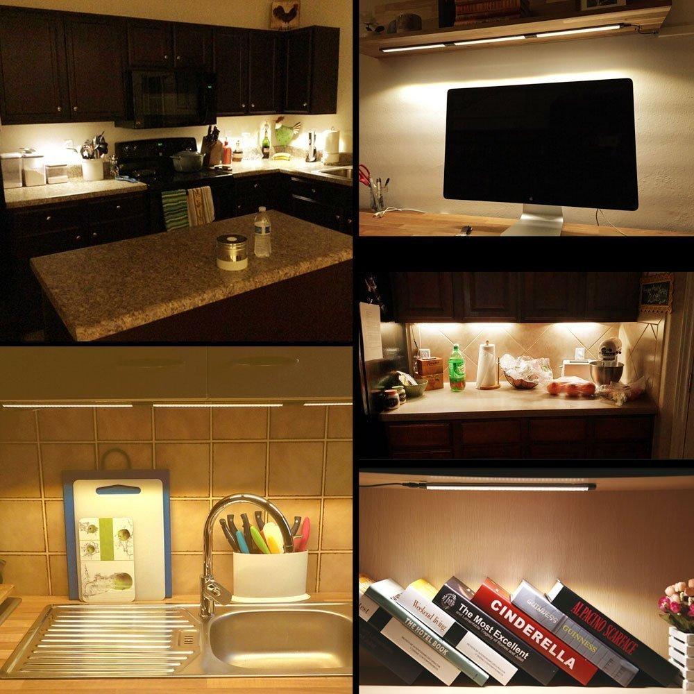 Schrank Bar Licht Kit Starre LED Bar Licht mit Dimmer Schalter für ...
