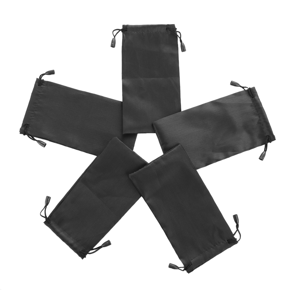 1/5/10 pcs Soft Cloth Waterproof Sunglasses Bag Microfiber Dust Storage Pouch Glasses Carry Bag Portable Eyewear Case Container